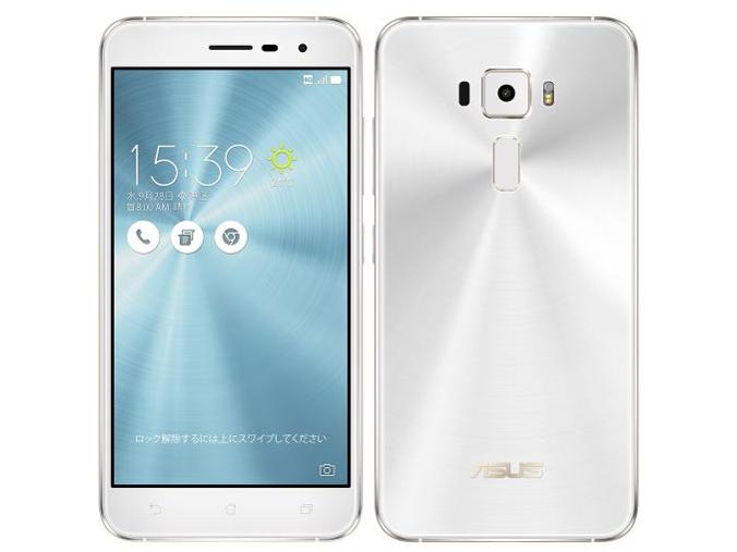 【中古】ASUS ZenFone3 ZE520KL-WH32S3 (パールホワイト) SIMフリー