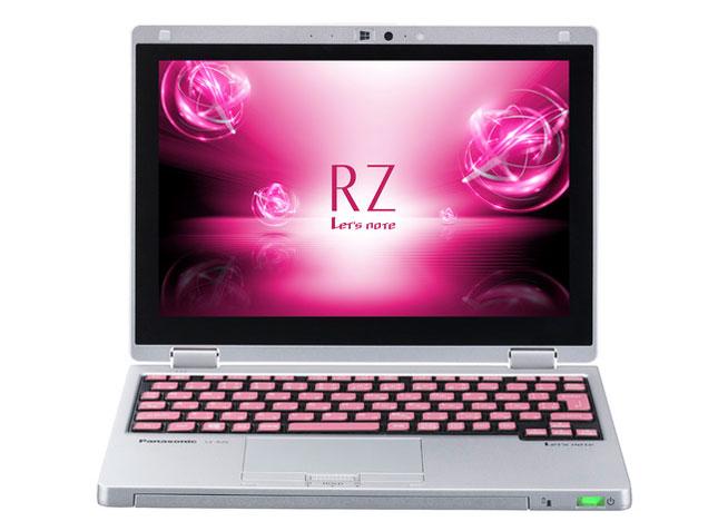 Panasonic Let's note RZ6 CF-RZ61DPPR 天板フローラピンク×シルバー