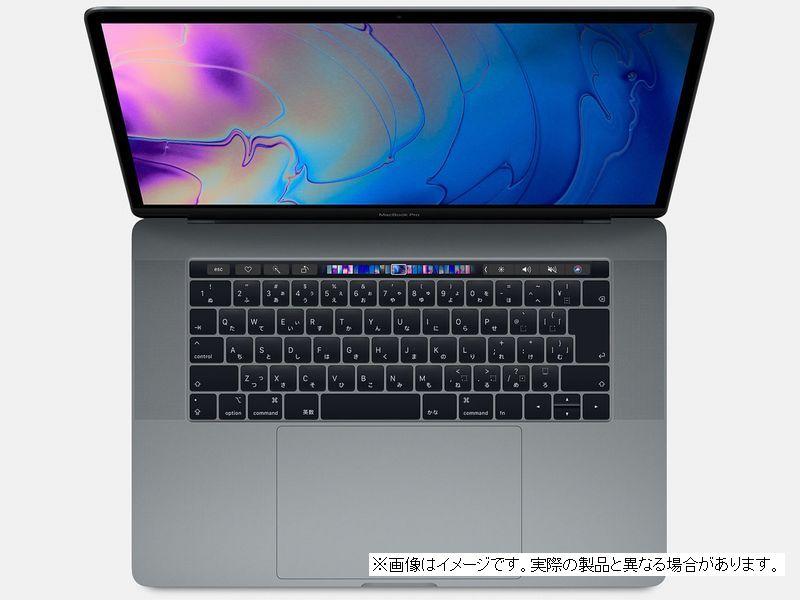 【 Z0V10005Q 】 MacBookPro15 (2018) スペースグレイCTOモデル(ベースモデル MR942J/A)