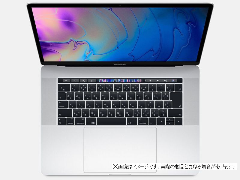 【 Z0V30007R 】 MacBookPro15 (2018) シルバーCTOモデル(ベースモデル MR972J/A)