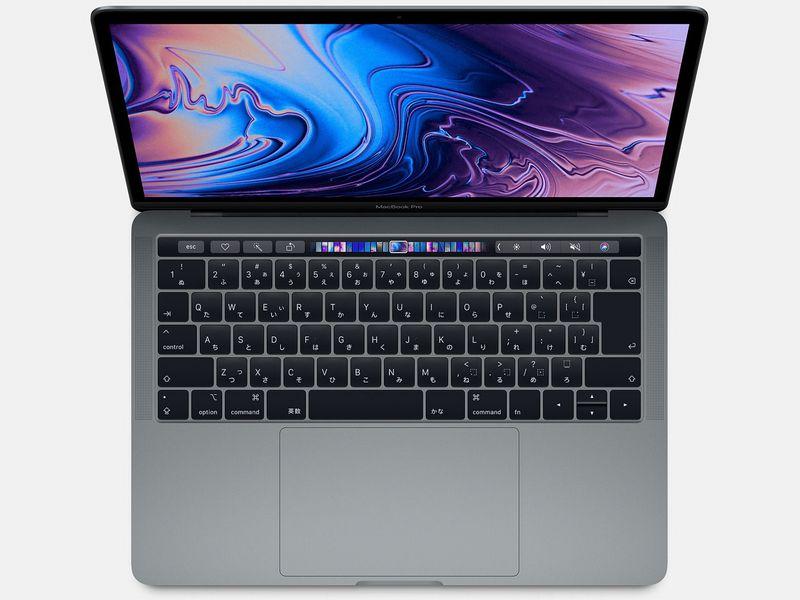 【展示品】Apple MacBookPro13 (2018) スペースグレイ MR9Q2J/A