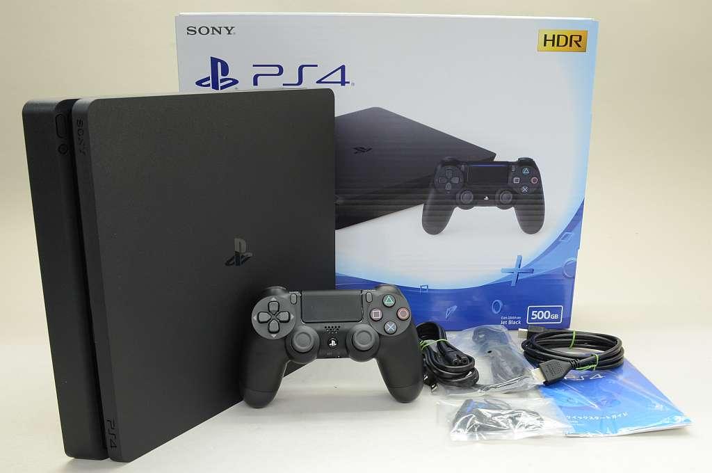 【中古】PlayStation4 ジェット・ブラック (500GB) CUH-2200AB01