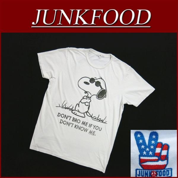 az041新货JUNK FOOD USA产史努比短袖T恤人DON'T BRO ME IF YOU DON'T KNOW ME SNOOPY劣质食品T恤花生JunkFood MADE IN USA