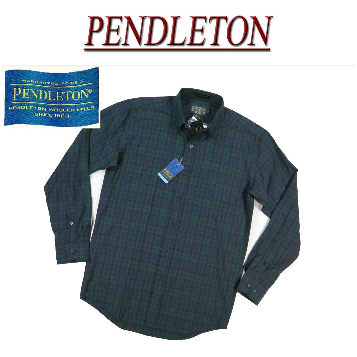 【3色5サイズ】 aa804 新品 PENDLETON SIR PENDLETON VIRGIN WOOL SHIRT FITTED タータンチェック 長袖 ボタンダウン ウールシャツ BA020-10052 メンズ サーペンドルトン チェックシャツ ペンデルトン ボタンダウンシャツ アメカジ 【smtb-kd】