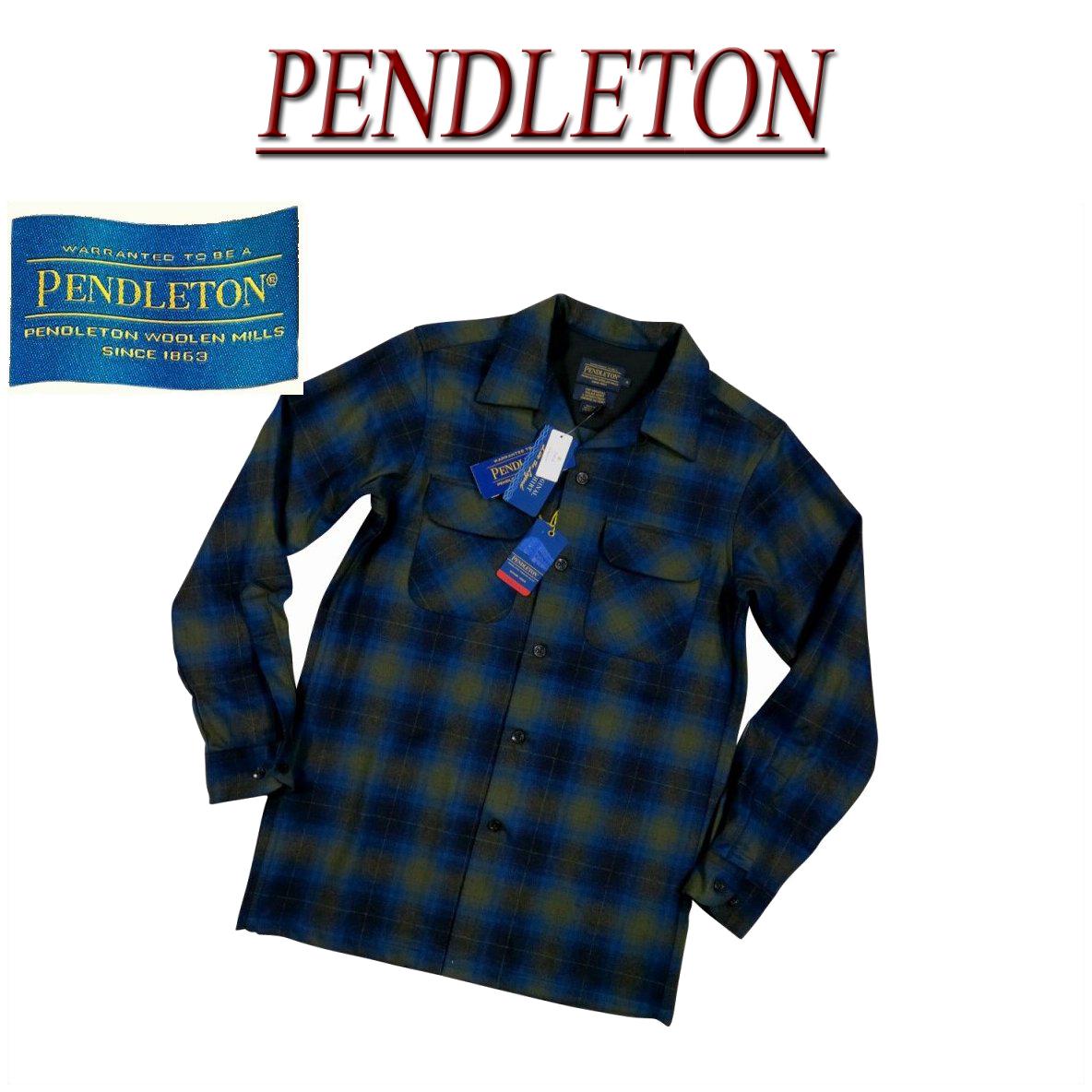 【5サイズ】 ac202 新品 PENDLETON BOARD SHIRT FITTED オンブレチェック 長袖 オープンカラー ウールシャツ AA014-31961 メンズ ペンドルトン チェックシャツ ペンデルトン ボードシャツ 【smtb-kd】