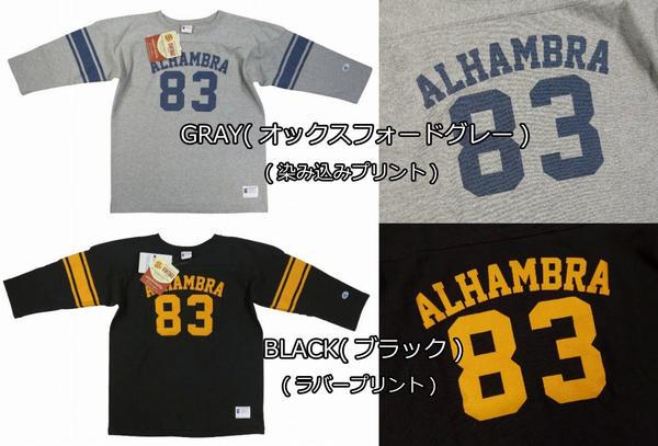 7b1f35b57 New article-free  Champion  runners tag dyeing print three-quarter sleeves  football T-shirt C3-K401