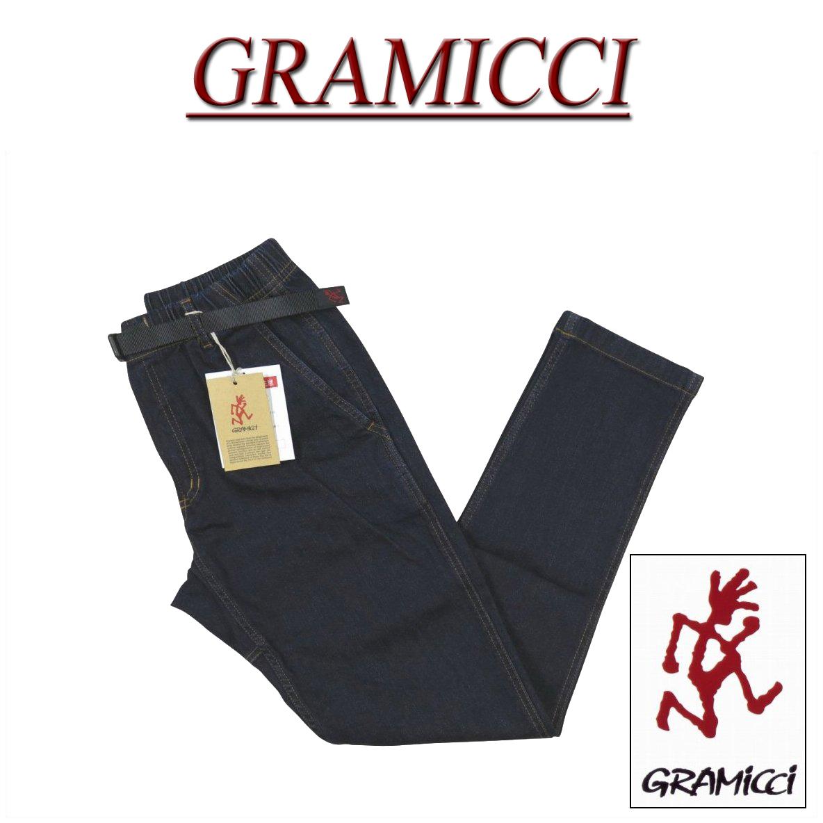 【4サイズ】 gm521 新品 GRAMICCI DENIM SLIM PANTS ストレッチデニム スリムパンツ クライミングパンツ GMP-18F014 ONE WASH メンズ グラミチ デニムパンツ アメカジ ロング 【smtb-kd】
