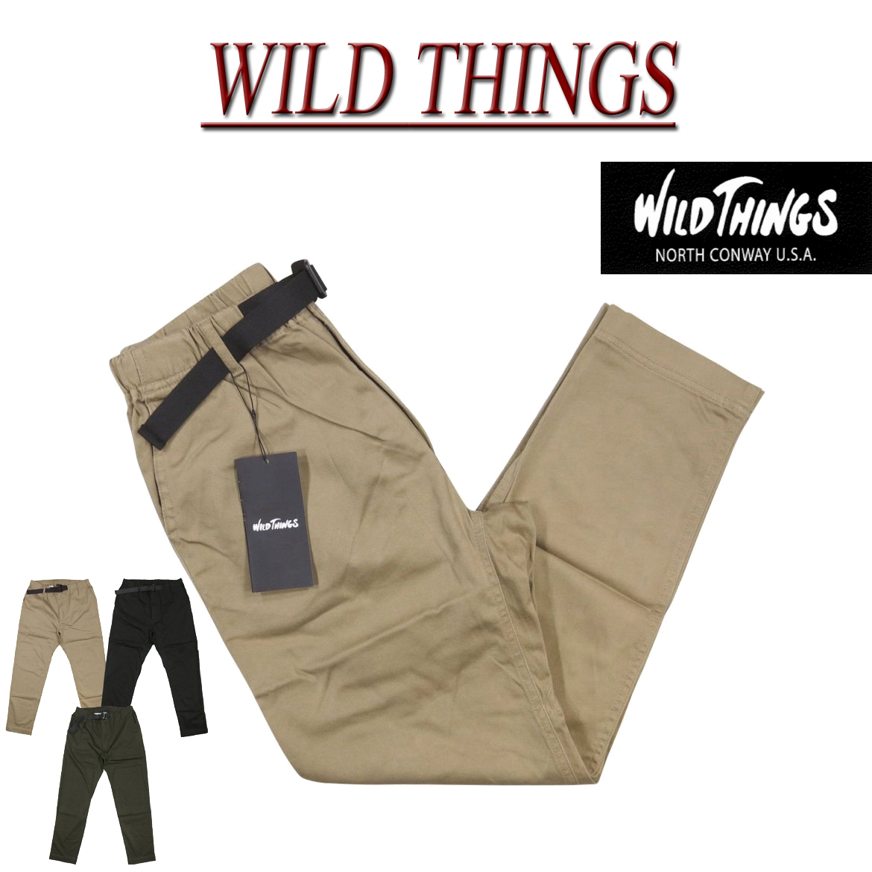 【20%off 4サイズ】 gm541 新品 WILD THINGS SATIN STRETCH THINGS PANTS サテン ストレッチ シングスパンツ WT18123AD メンズ ワイルドシングス クライミングパンツ