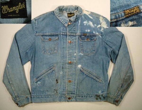 9ce74da2f8 J Rakuten Ichiba shop Plus  ljk277 XL Wrangler 124 MJ denim jacket G ...