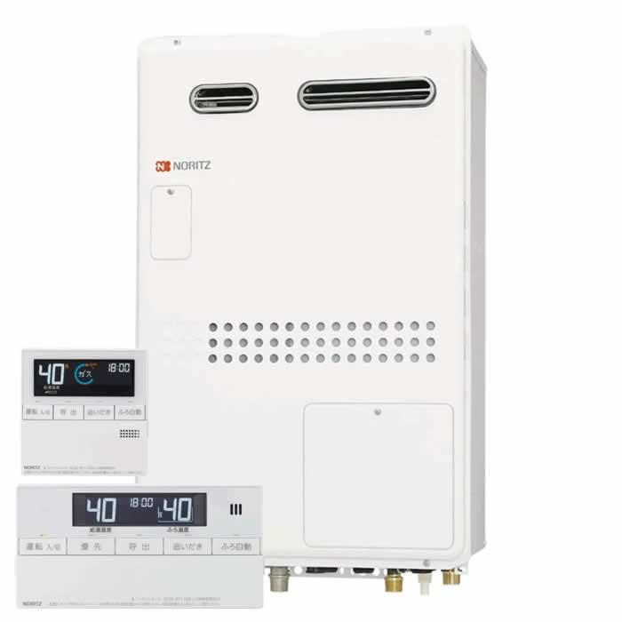 【送料無料】ノーリツ(Noritz)GTH-2445AWX3H-1 BLとRC-J112マルチのセット ガス温水暖房付給湯器 24号 フルオートタイプ 壁掛設置型(PS標準設置型) 従来型
