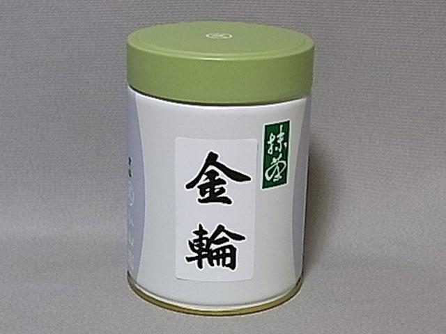 抹茶 金輪 200g缶