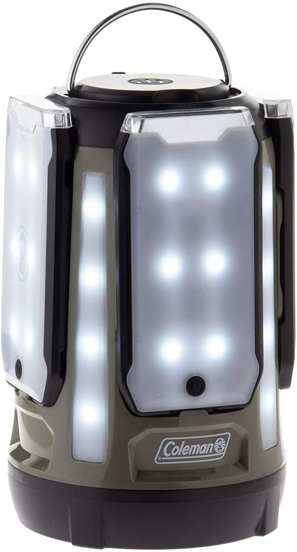 限定カラー コールマン(Coleman) ランタン クアッドマルチパネルランタン LED 乾電池式 約800ルーメン アウトドア キャンプ 登山 夜釣り 防災 停電 緊急 非常用