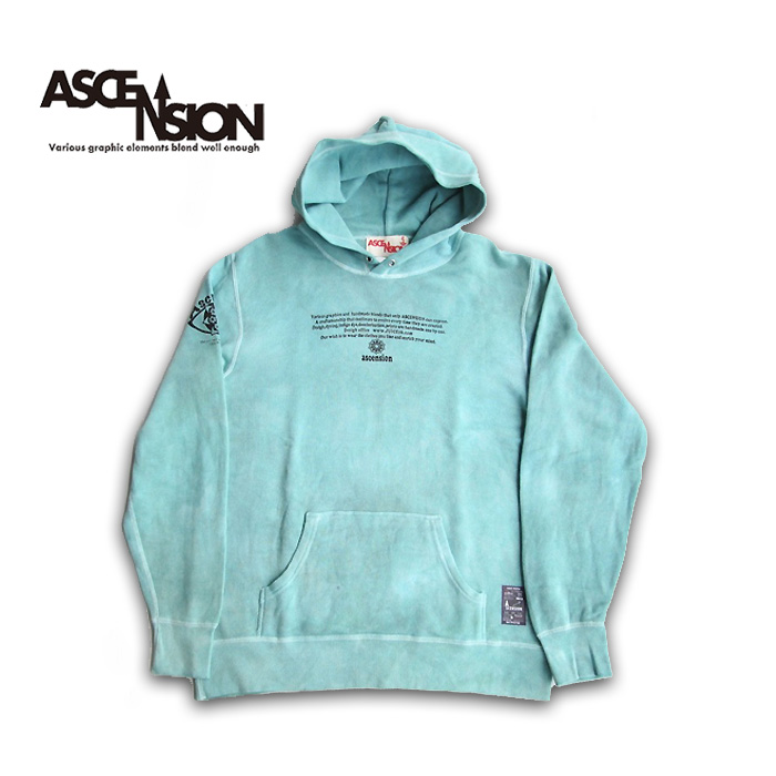 ASCENSION(アセンション)Tiedye Pullover Hoodie パーカー・アウター タイダイ・TIE-DYE as-737