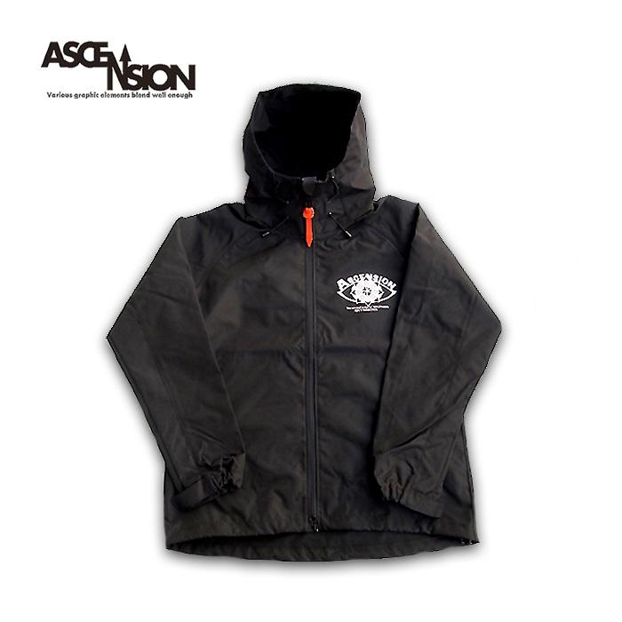 ASCENSION(アセンション)Open your eyes Mountain jacket マウンテンジャケット /カジュアル ストリート コート アウター 秋冬 アウトドア 防風 撥水 as-743