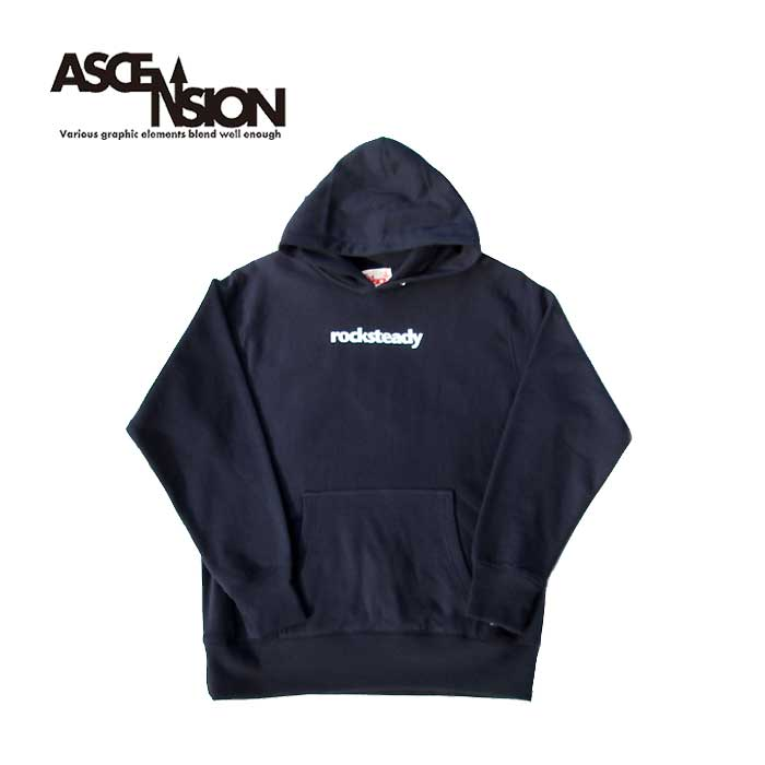ASCENSION(アセンション)Heavy weight sweat Pull Over parka  Music series / ROCKSTEDY (ロックステディー) パーカー・アウター タイダイ・TIE-DYE as-826