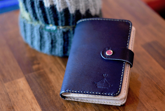 BLUE.art(ブルードットアート)Natural leather wallet ―BLACK-- ba-062