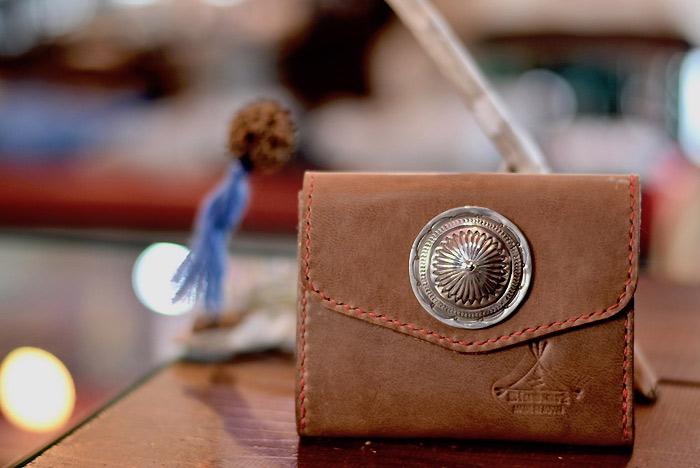 BLUE.art(ブルードットアート)SMART WALLET (ネイティブ ハンドステッチ ナチュラルウォレット)レザークラフト・オーダーメイド・革財布・ステッチ 長財布 ロングウォレット プレゼント・小物・アクセサリー ba-075