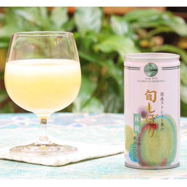 王林りんご特有の芳香 風味を存分に味わえる極上のストレートジュース 舗 100%りんごストレートジュース 国産 東北産 旬しぼり 王林りんごジュース 100% 特別セール品 保存料 無添加 フロリダスモーニング 195g×30缶 砂糖