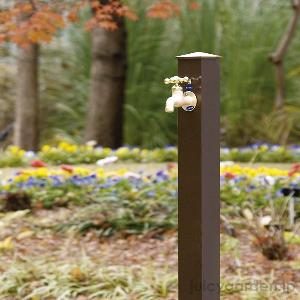 【楽天市場】【立水栓 水栓柱】日本製カラーアルミ立水栓 【蛇口は別売り】水栓柱 ガーデニング 庭 エクステリア 屋外