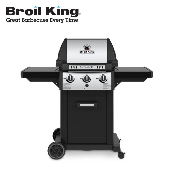 「ブロイルキング(Broil King) 設置用小型LPガスグリル モナーク320(MONARCH320)」【送料別】