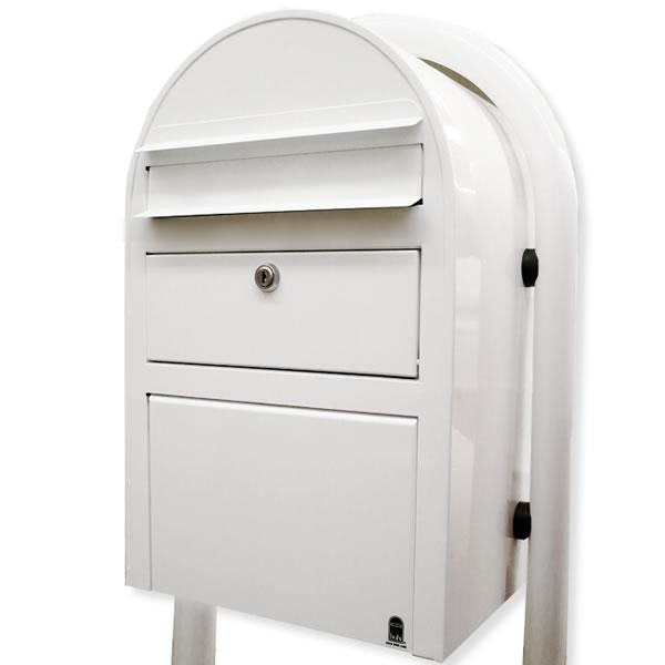 北欧の郵便ポスト 宅配ボックス Bobi スイスボビ 前入れ前出し おしゃれ