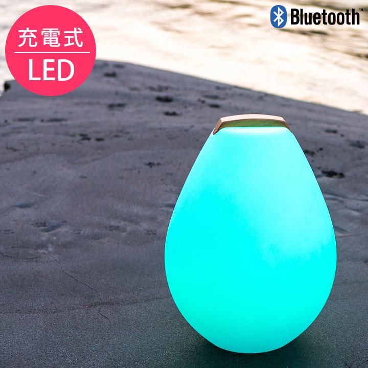 【送料無料】「スマートアンドグリーン (Smart & Green) 充電式LEDガーデンライト ベッセル2S(Vessel2S) Bluetooth仕様」[pt_sale]
