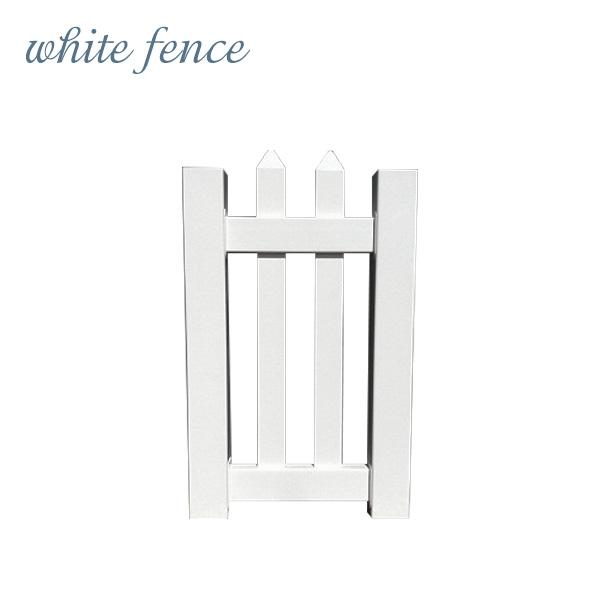 【ホワイトフェンス】【目隠し】【樹脂】「カントリーゲートS」