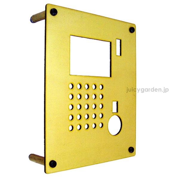 【送料無料】 シンプルなインターホンカバー【真鍮<ブラス>】 【インターホン カバー】<ドアホン/インターフォン>