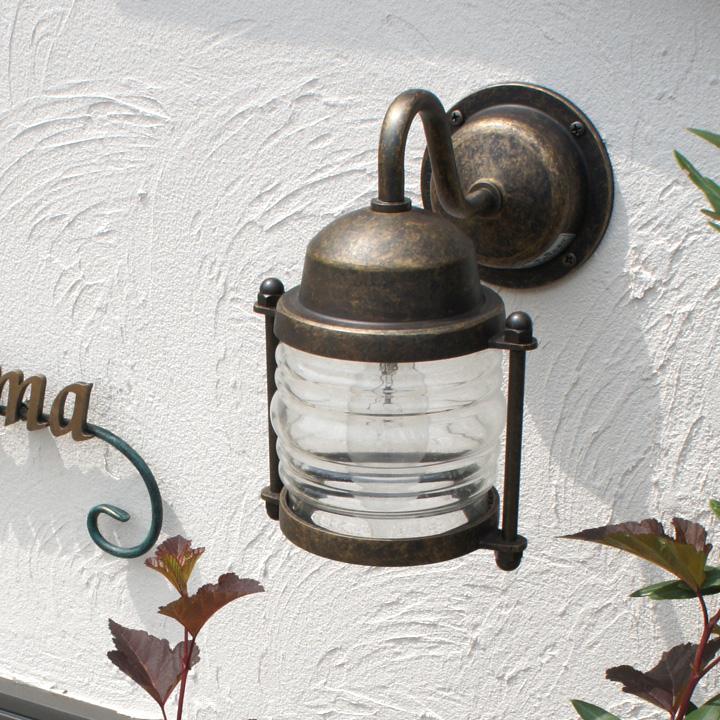 【屋外用照明】【真鍮】【防雨タイプ】「真鍮ガーデンライト BR1710 LED」