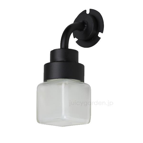 【表札 ライト】表札を照らす照明「小瓶のあかり 角」ジャムポットで可愛く作りました。門柱に最適小さめサイズ。アンティークでお洒落なデザインライトはレトロな雰囲気で和風におすすめ【エクステリア】[pt_sale2]