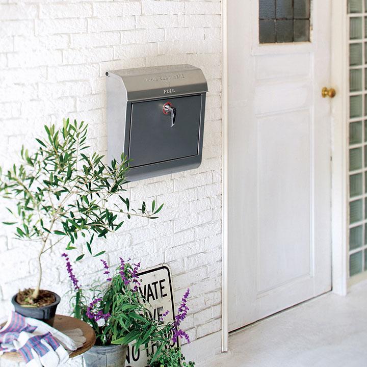 【郵便ポスト】【壁掛けタイプ】「アートワークスタジオ(ARTWORKSTUDIO)Mail box 1」鍵付き