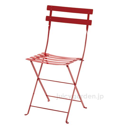 【チェア】【椅子】【イス】 スリムなラインが魅力のガーデンチェアーFermob メタルフォールディングチェア屋外対応! 【フェルモブ】【ファニチャー】【ガーデン】【庭】【送料無料】
