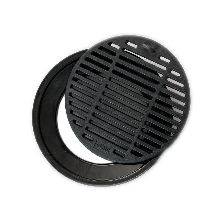 Cuisine In Ozpig Of Cast Iron Griddle And Drip Tray Grill
