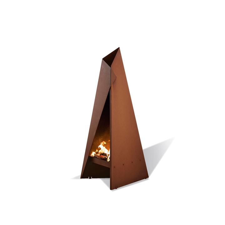 【送料無料】耐候性合金仕様の薪式ガーデンストーブ 「ヒタ ティピ 90(Heta Tipi 90)」