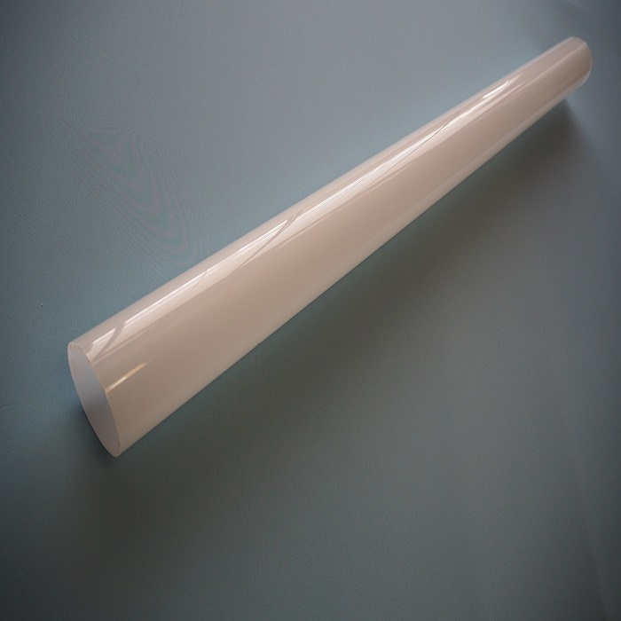 アクリル乳半パイプ 外径180mm肉厚3mm全長1m