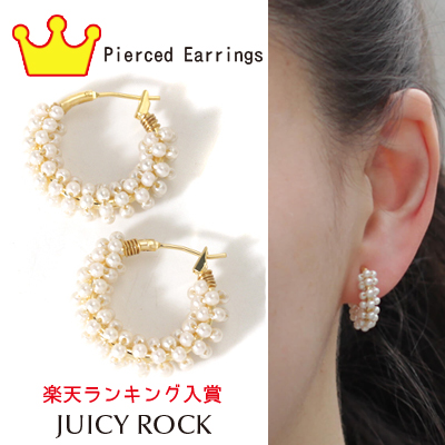 JUICYROCK Original tiny Paul lap hoop earrings