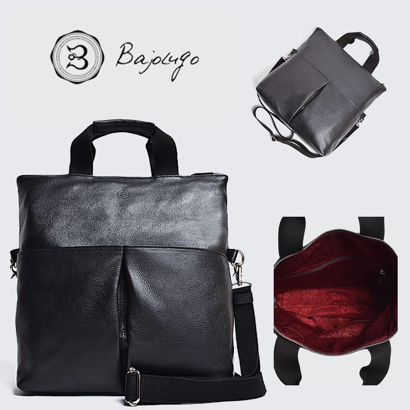 BajoLugo バジョルゴ 3WAY クラッチトート シボ ブラック バッグ 鞄