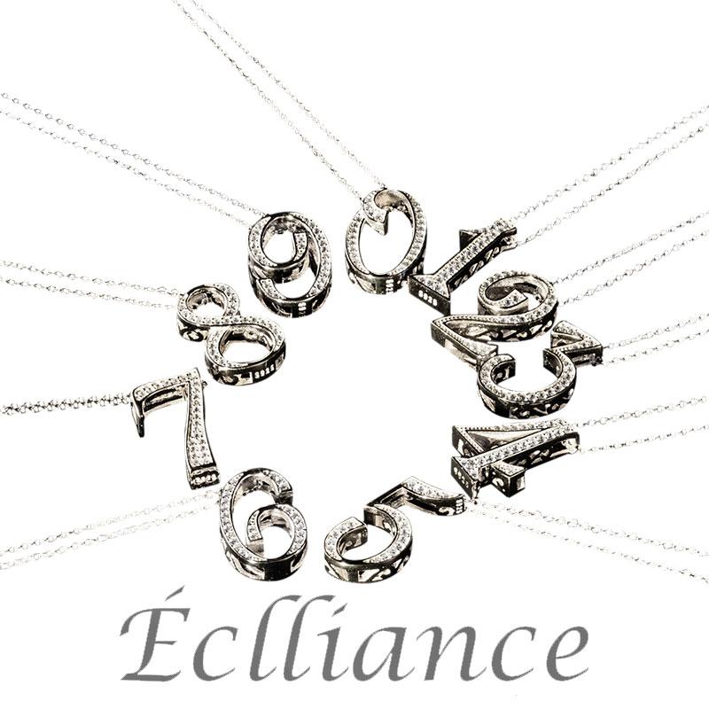 Eclliance エクリアンス Number Necklace Silver S925 ナンバー ネックレス メンズ レディース ブランド