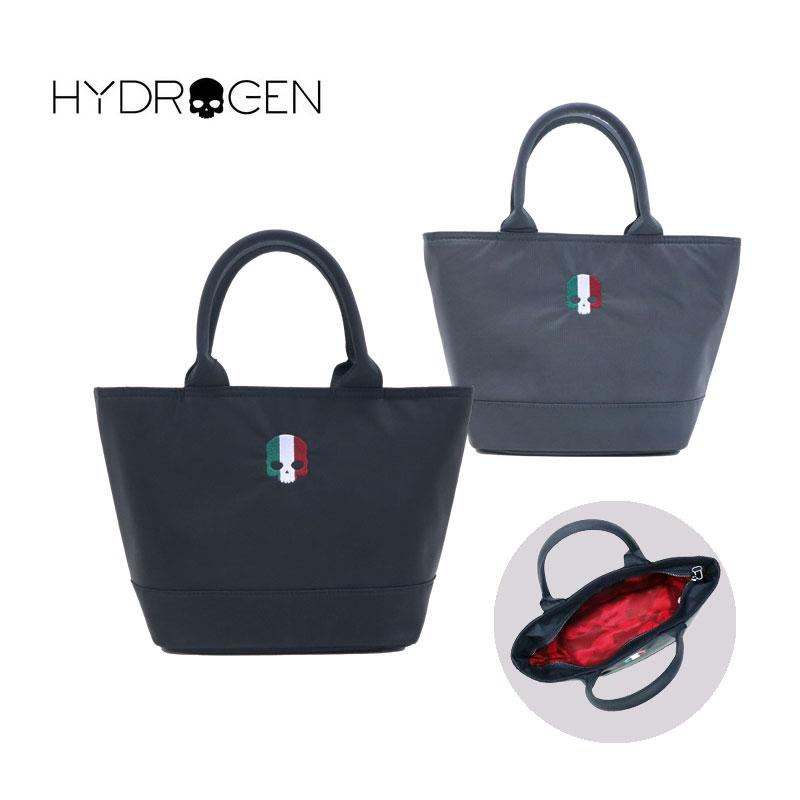 イタリアスカル ミニトート メンズ ハイドロゲン バッグ HYDROGEN レディース ブランド 刺繍 ファスナー