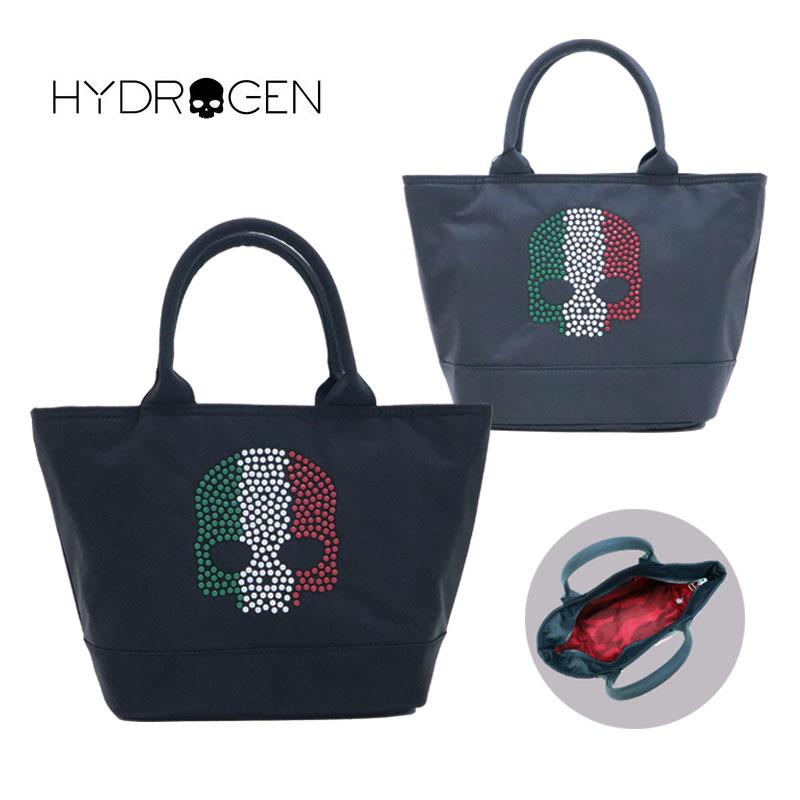 HYDROGEN ハイドロゲン レディース バッグ メンズ イタリアスカル スタッズ ブランド ミニトート ファスナー