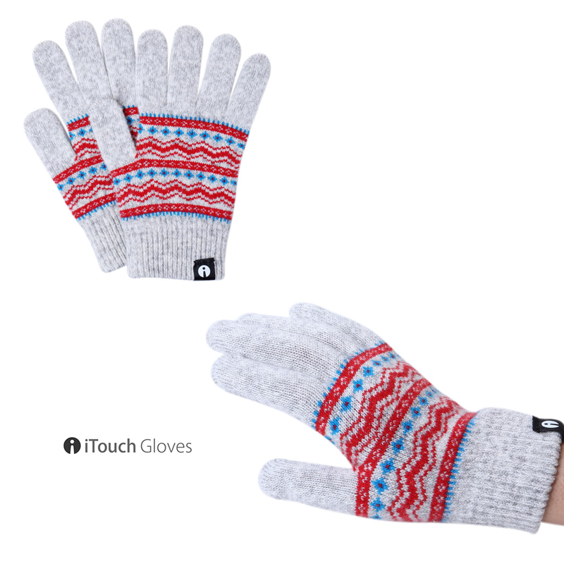 iTouch Gloves PATTERN チロル