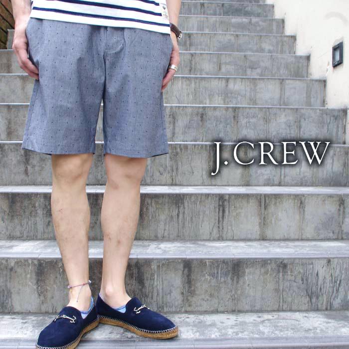 J.CREW ジェイクルー ショートパンツ ショーパン ハーフパンツ カラーパンツ カラーショーツ ドット