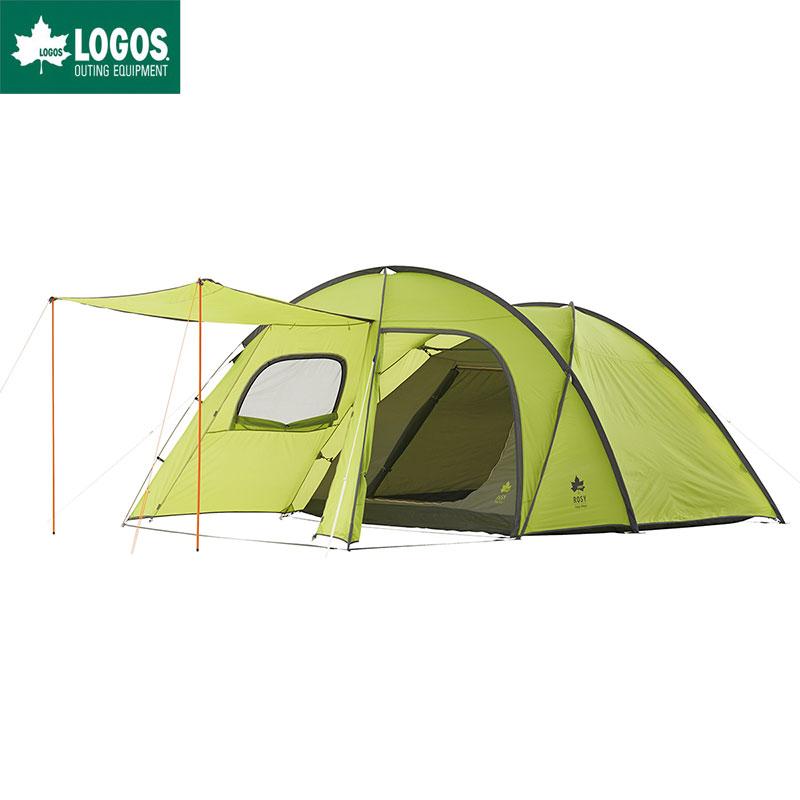 LOGOS ロゴス ツールームテント キャンプ 5人用 リビング ROSY ドゥーブル XL タープテント