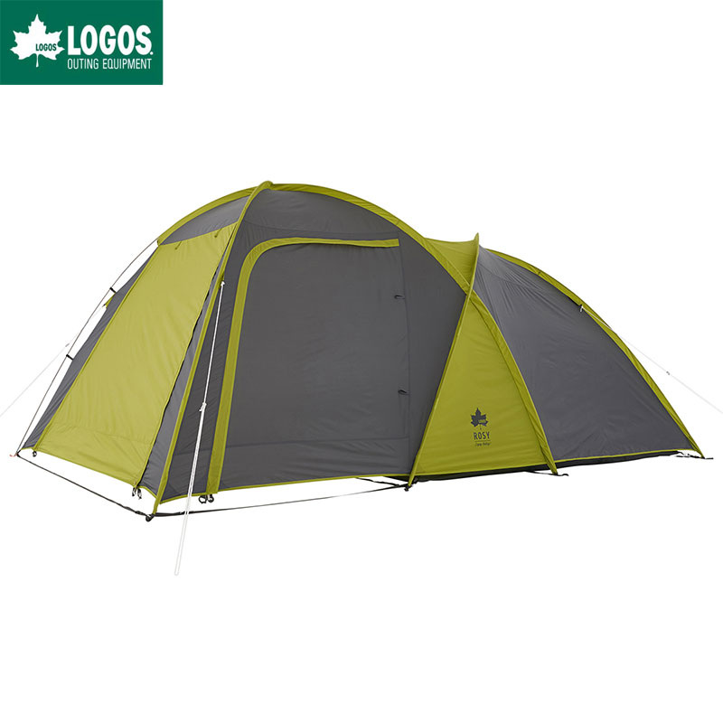 LOGOS ロゴス テント キャンプ ツールーム型 5人用 大型 ROSY ドゥーブルXL-AI 防水 難燃 簡単
