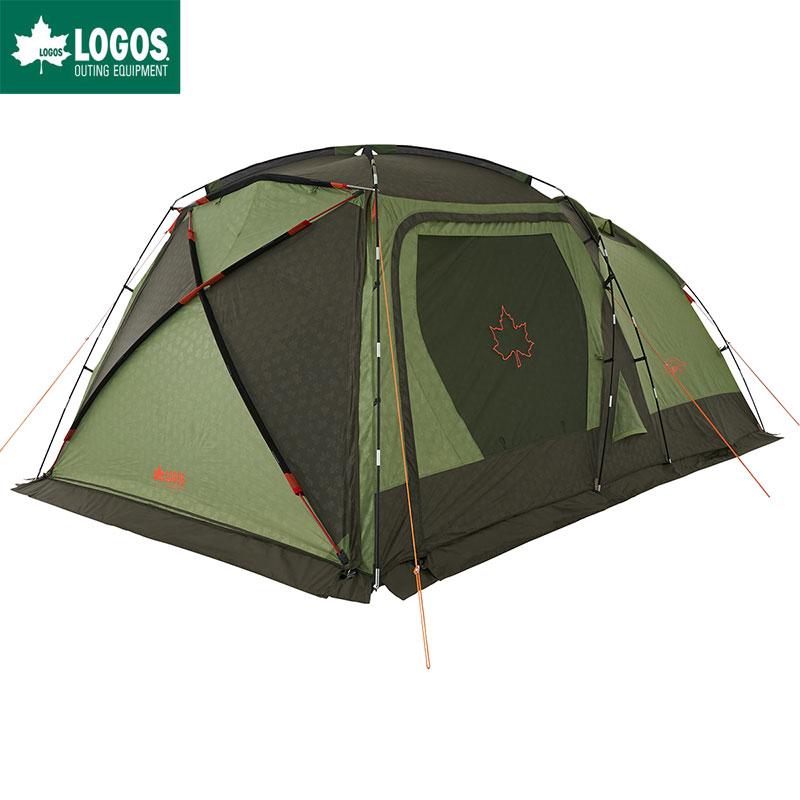LOGOS ロゴス ツールームテント キャンプ 5人用 neos PANELスクリーンドゥーブル XL-AI 防水 難燃 簡単 タープテント