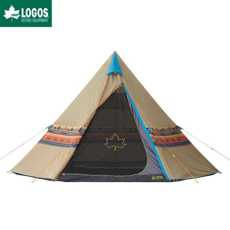 LOGOS ロゴス ティピーテント キャンプ 4人用 ナバホ Tepee 400 防水 難燃 簡単