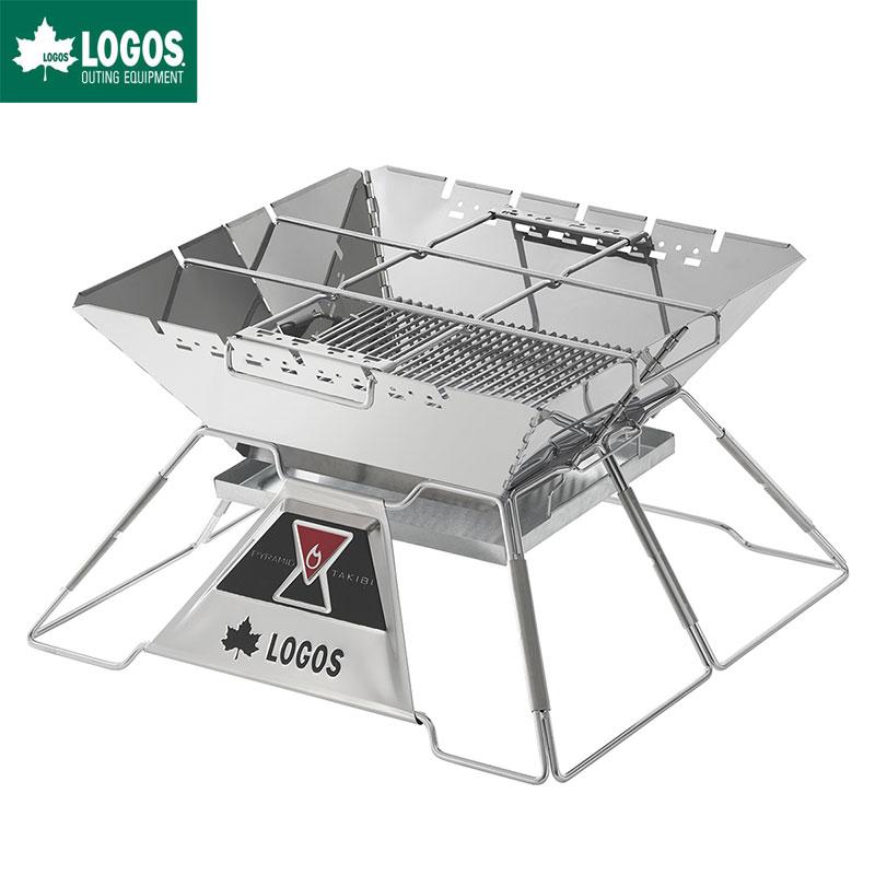 LOGOS ロゴス 焚き火台 バーベキューグリル LOGOS the ピラミッドTAKIBI XL