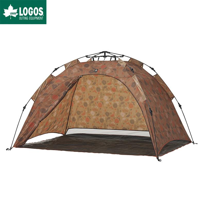 LOGOS ロゴス サンシェード ワンタッチ テント Q-TOP フルシェード 200 プランツ