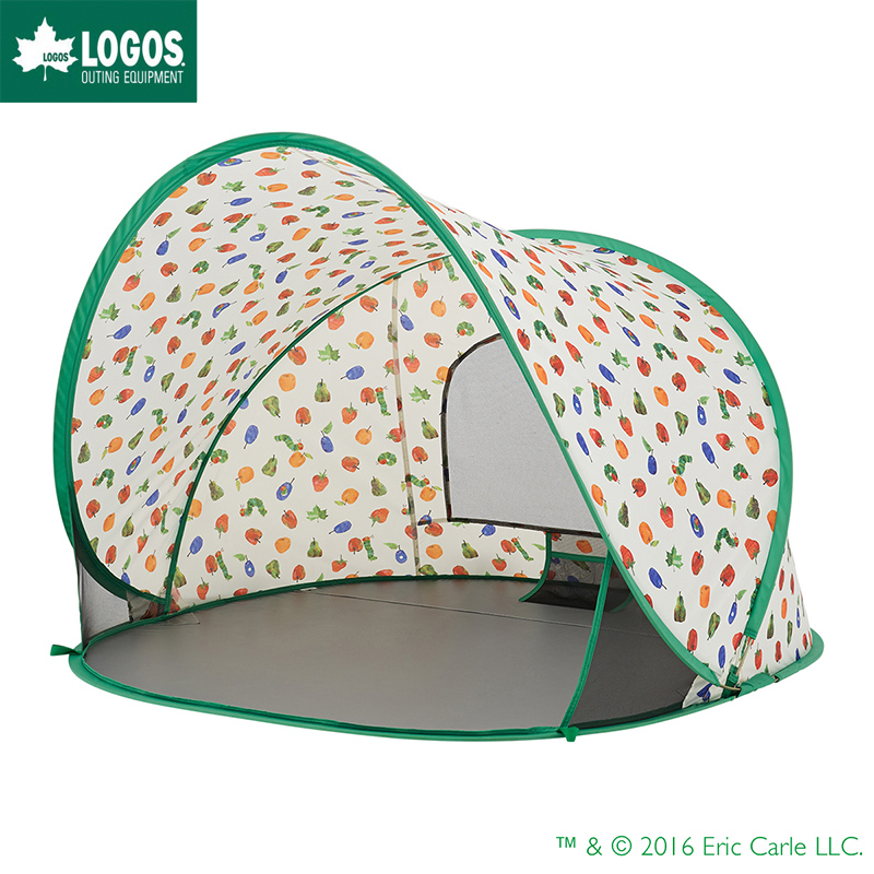 LOGOS ロゴス サンシェード ワンタッチ テント はらぺこあおむし ポップアップシェード