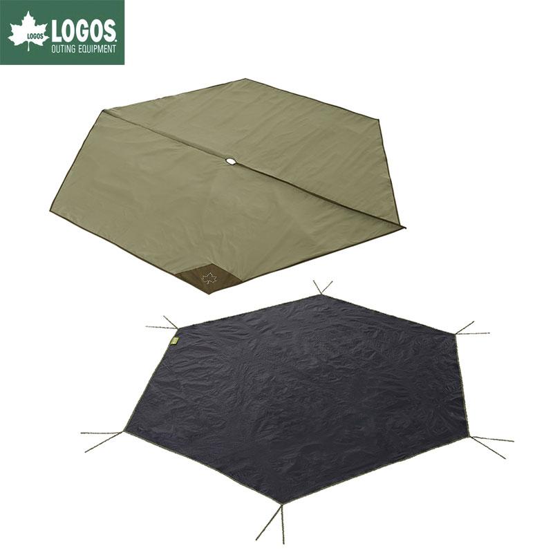 LOGOS ロゴス キャンプ Tepee マット&シート300 テントシート テントマット セット